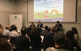 Presentación de Garveland en Sevilla (Andalucía)