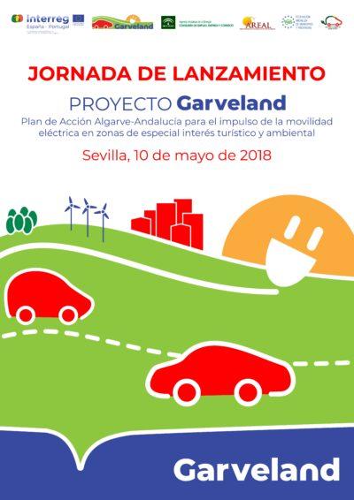 Garveland 2018 Cartel Jornada de lanzamiento en español