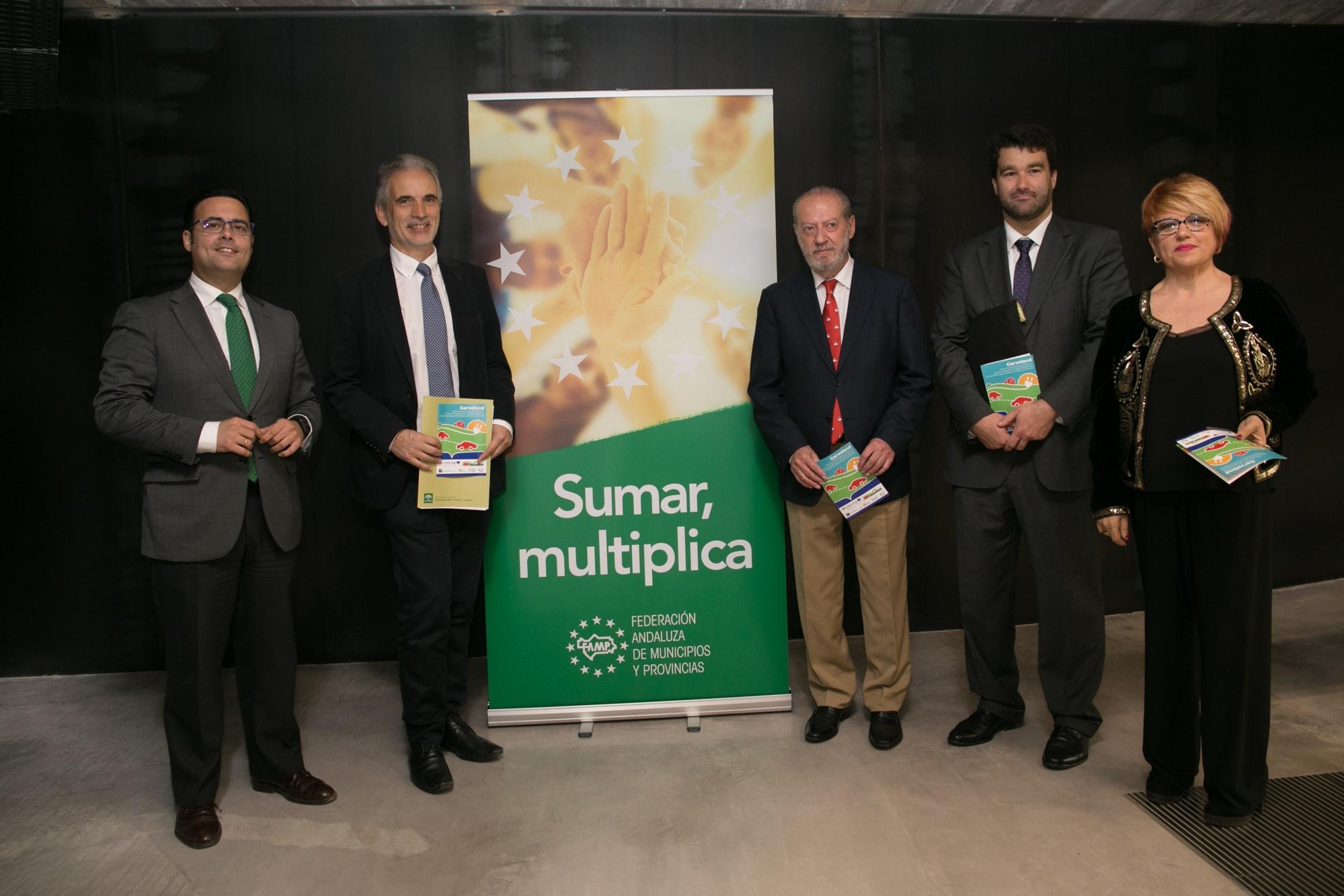 Presentación de Garveland en Sevilla Andalucia